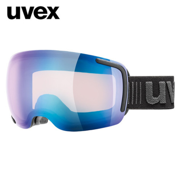 우벡스 스키고글UVEX big 40 VFM ASIAN FIT black matmirror blue, variomatic® S1-S3주야겸용