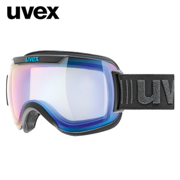 우벡스 스키고글UVEX downhill 2000 VFM ASIAN FIT black matmirror blue, variomatic® S1-S3주야겸용
