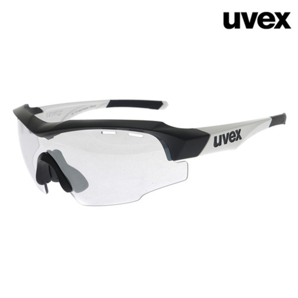 uvex sportstyle 104 vmblack mat white(무광/변색미러)Asian Fit