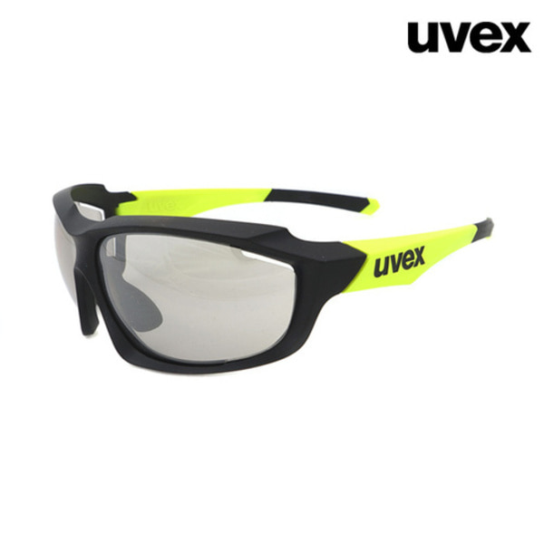uvex sportstyle 710 vmblack mat lime(무광/변색)Asian Fit