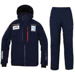 17/18 Norway Team Jacket NVFull Zipped Pants NV