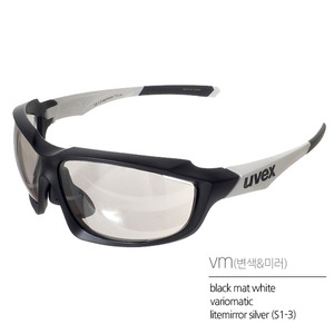 uvex sportstyle 710 vmblack mat white(무광/변색)Asian Fit