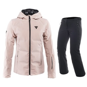 다이네즈 스키복1819 Dainese SKI DOWNJACKET LADY + HP2 P L1MISTY ROSE + STRETCH LIMO