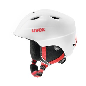 우벡스 스키헬멧1819 uvex airwing 2 prowhite-red mat