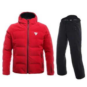 다이네즈 스키복1819 Dainese SKI DOWNJACKET MAN + 1718 HP2 P M1CHILI PEPPER + STRETCH LIMO