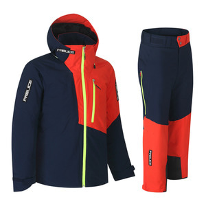 파블리스 1819 FABLICEDemo Jacket + Demo Pants Navy Orange
