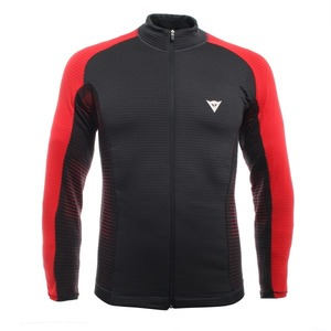 다이네즈 미들러1819 DAINESE HP1 MID FULL ZIP MANSTRETCH LIMO/HIGH RISK RED