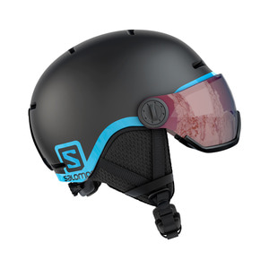 살로몬 주니어바이저1819 SALOMON GROM VISOR Black/Univ.