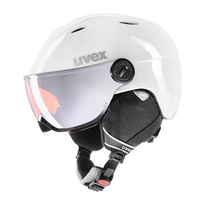 우벡스 스키헬멧1819 uvex junior visor prowhite-grey