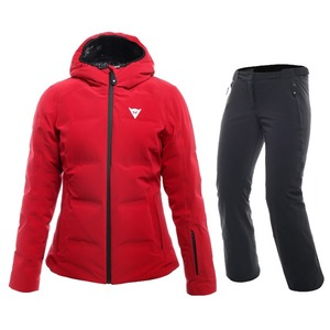 다이네즈 스키복1819 Dainese SKI DOWNJACKET LADY + HP2 P L1CHILI PEPPER + STRETCH LIMO
