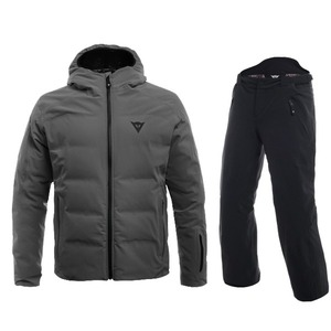 다이네즈 스키복1819 Dainese SKI DOWNJACKET MAN + 1718 HP2 P M1GUN METAL + STRETCH LIMO
