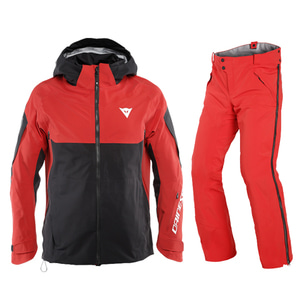 다이네즈 스키복1819 Dainese HP1 RC SETHIGH RISK RED/STRETCH LIMO
