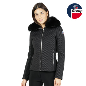 18 FUSALP MONTANA II WOMEN SKI JACKET BLACK