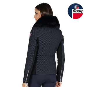 18 FUSALP MONTANA II WOMEN SKI JACKET DARK BLUE