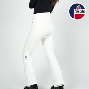 18 FUSALP WOMEN FUSEAU SKI PANTS DIANA OFF WHITE