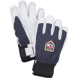 헤스트라 스키장갑HESTRA Army Leather Patrol Jr Navy32450-280