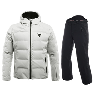 19 DAINESE SKIDOWN JACKET + HP2 P M1 LILY-WHITE