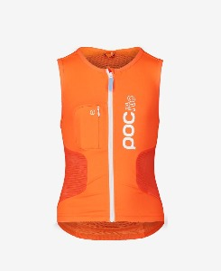 피오씨 보호대 POCito VPD Air Vest Orange + Trax POC Ed.