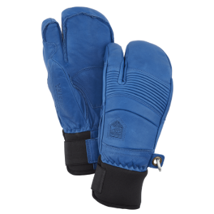 헤스트라 HESTRA Leather Fall Line 3-finger Royal blue 31472-250