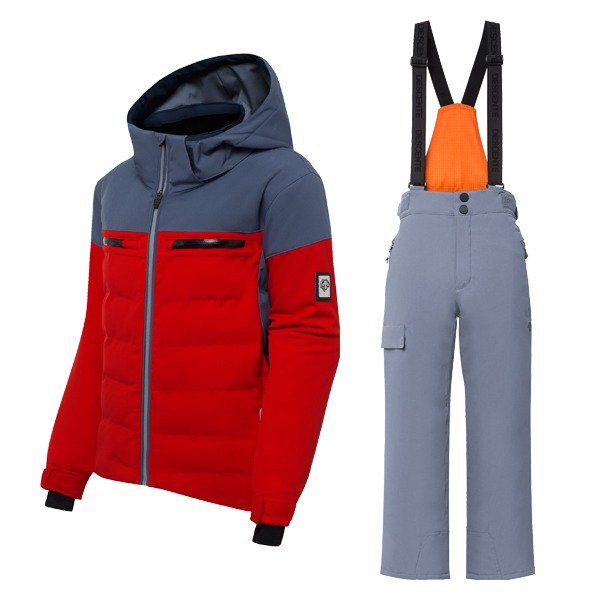 데상트 주니어스키복 18 DESCENTE LEONIE ERD + PIPER BIB PANTS MSD
