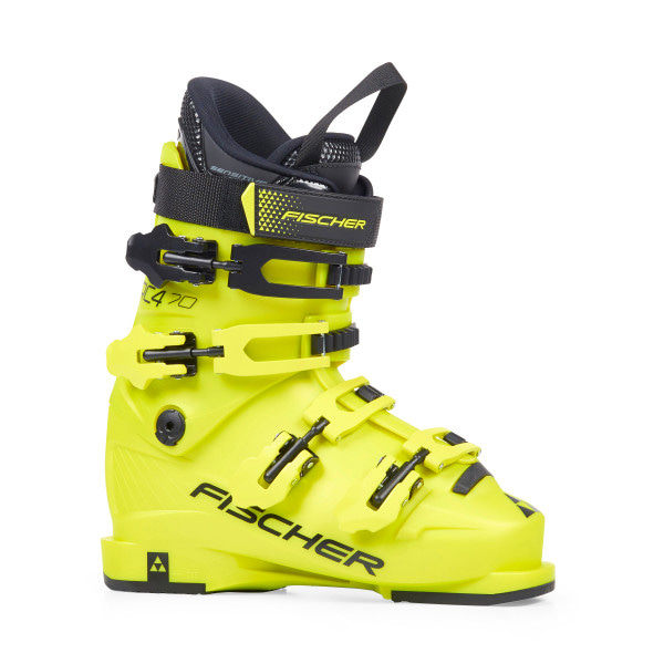 피셔 주니어스키부츠 19 Fischer RC4 70 Jr. Thermoshape YELLOW/YELLOW