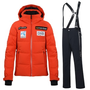 피닉스 팀복 20 Norway Team Down Jacket + Pants FLRD BK
